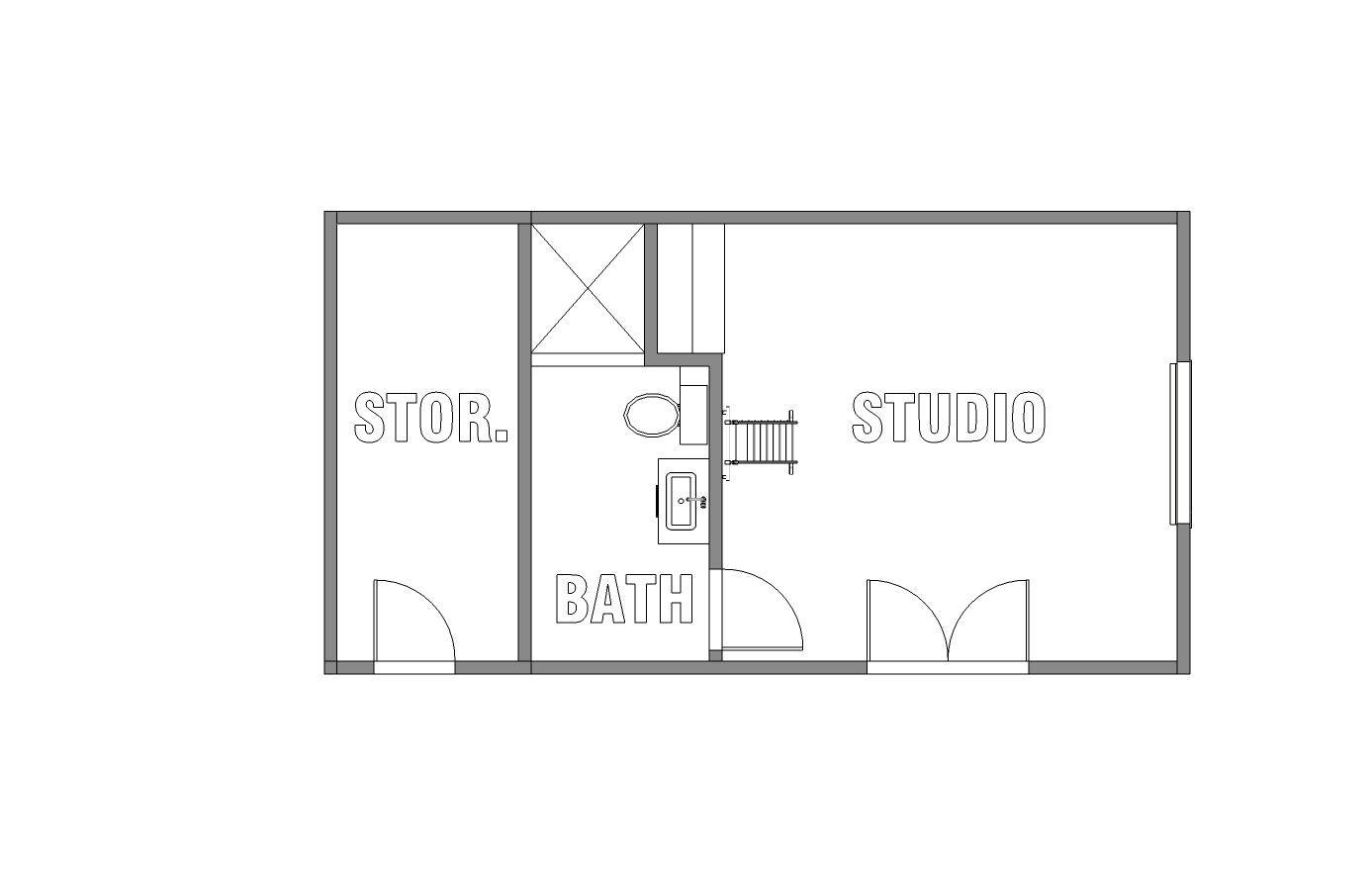 Floor Plan For New Guest House