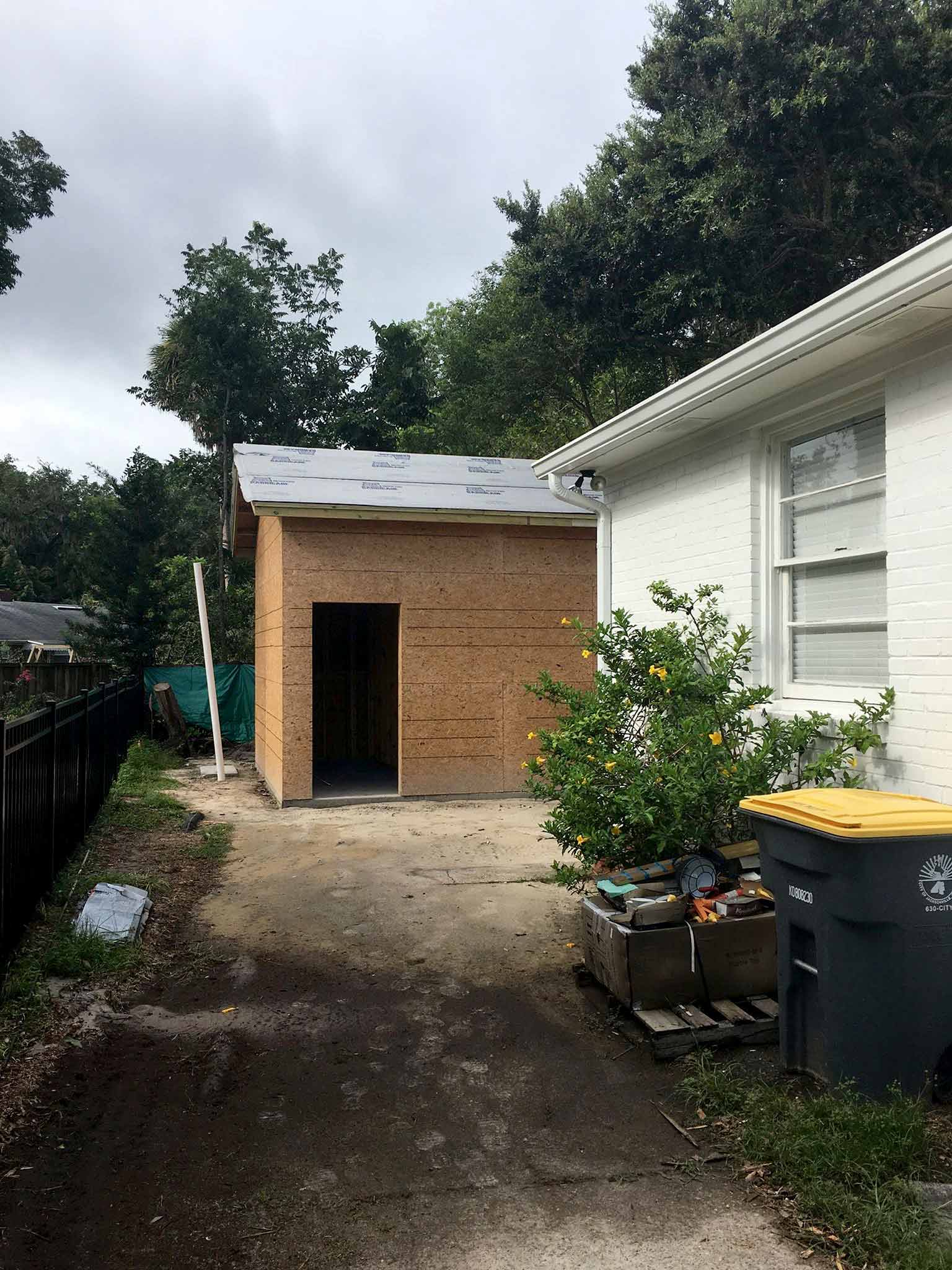 Guest house construction progress - That Homebird Life Blog
