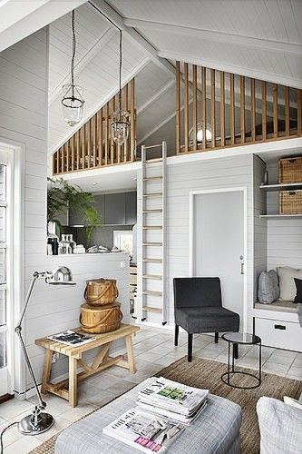 Loft inspiration - That Homebird Life Blog