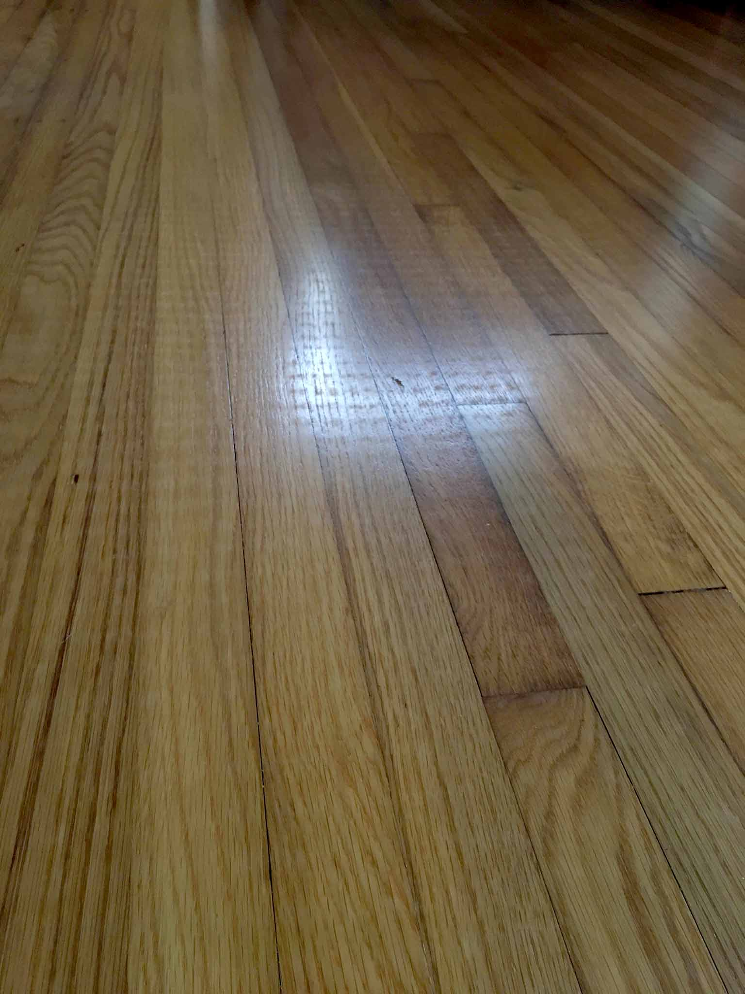 Damage to hardwood floors caused by jute rug - That Homebird Life Blog