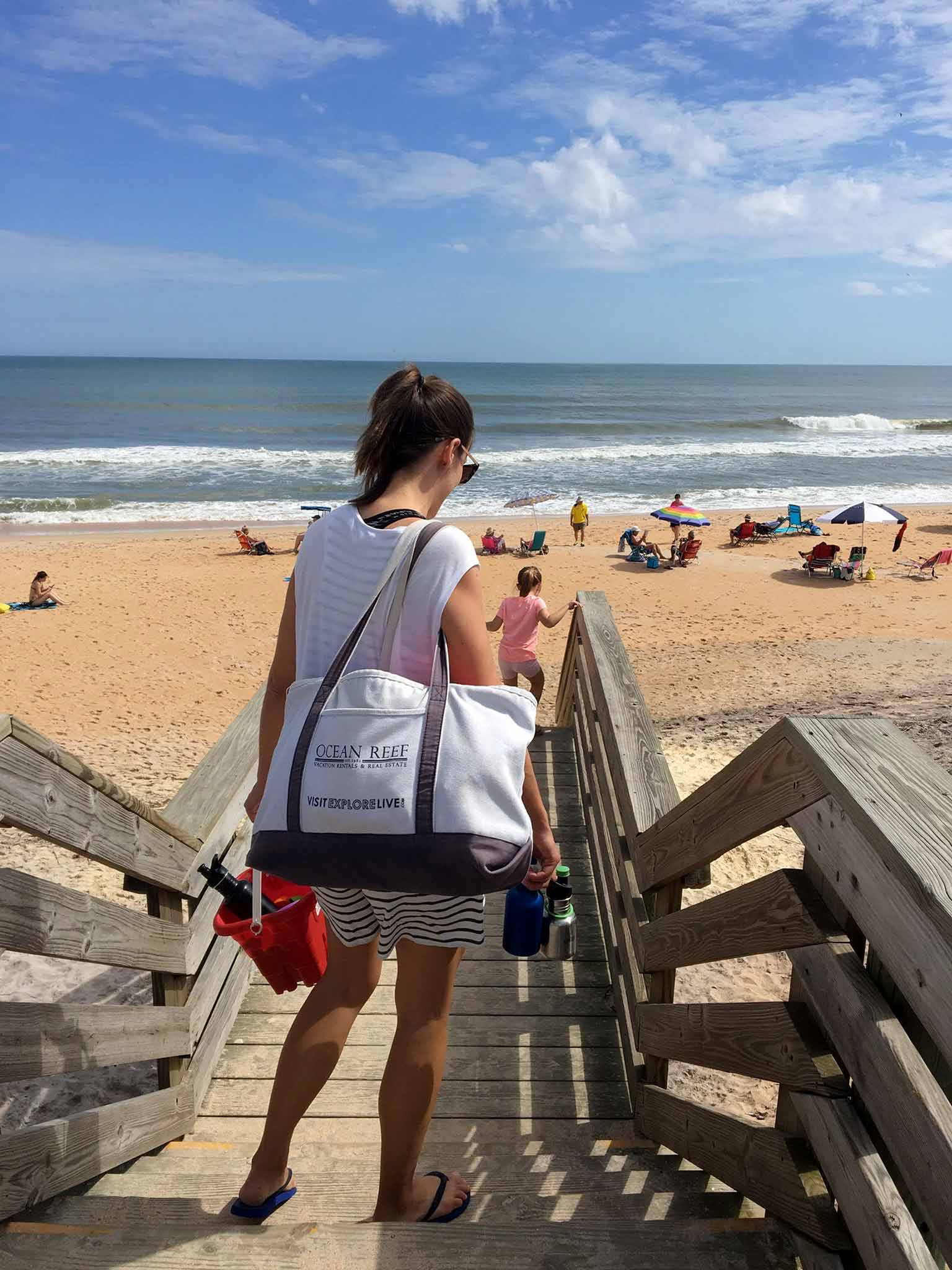 Family Sabbath at the beach - That Homebird Life Blog