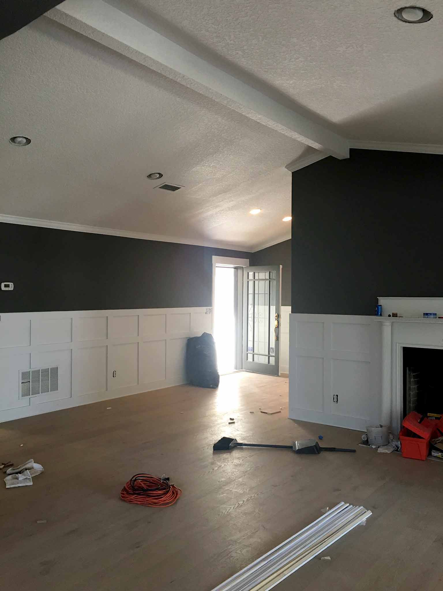 Client home renovation in progress - That Homebird Life Blog