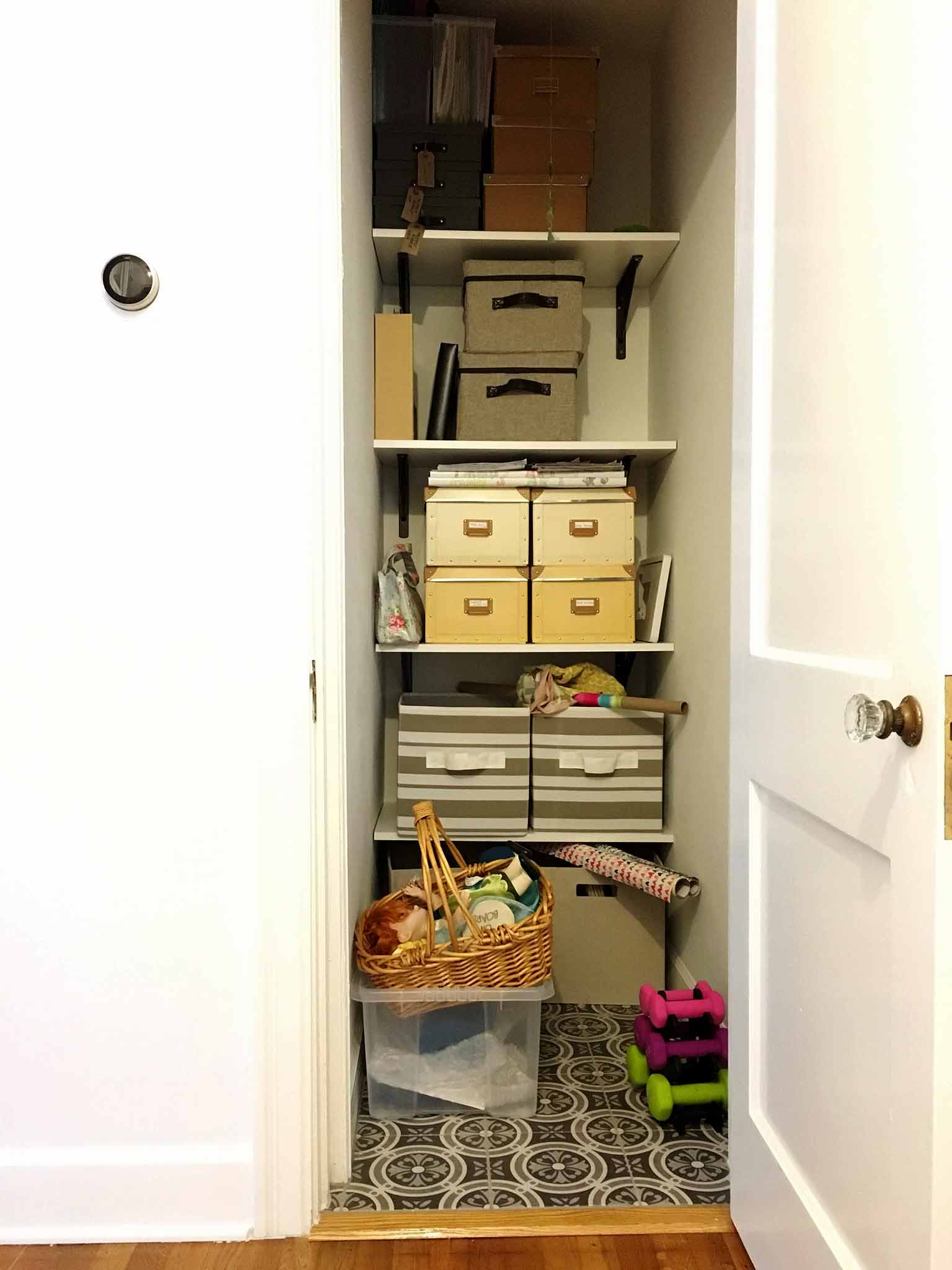 Pantry before - That Homebird Life Blog