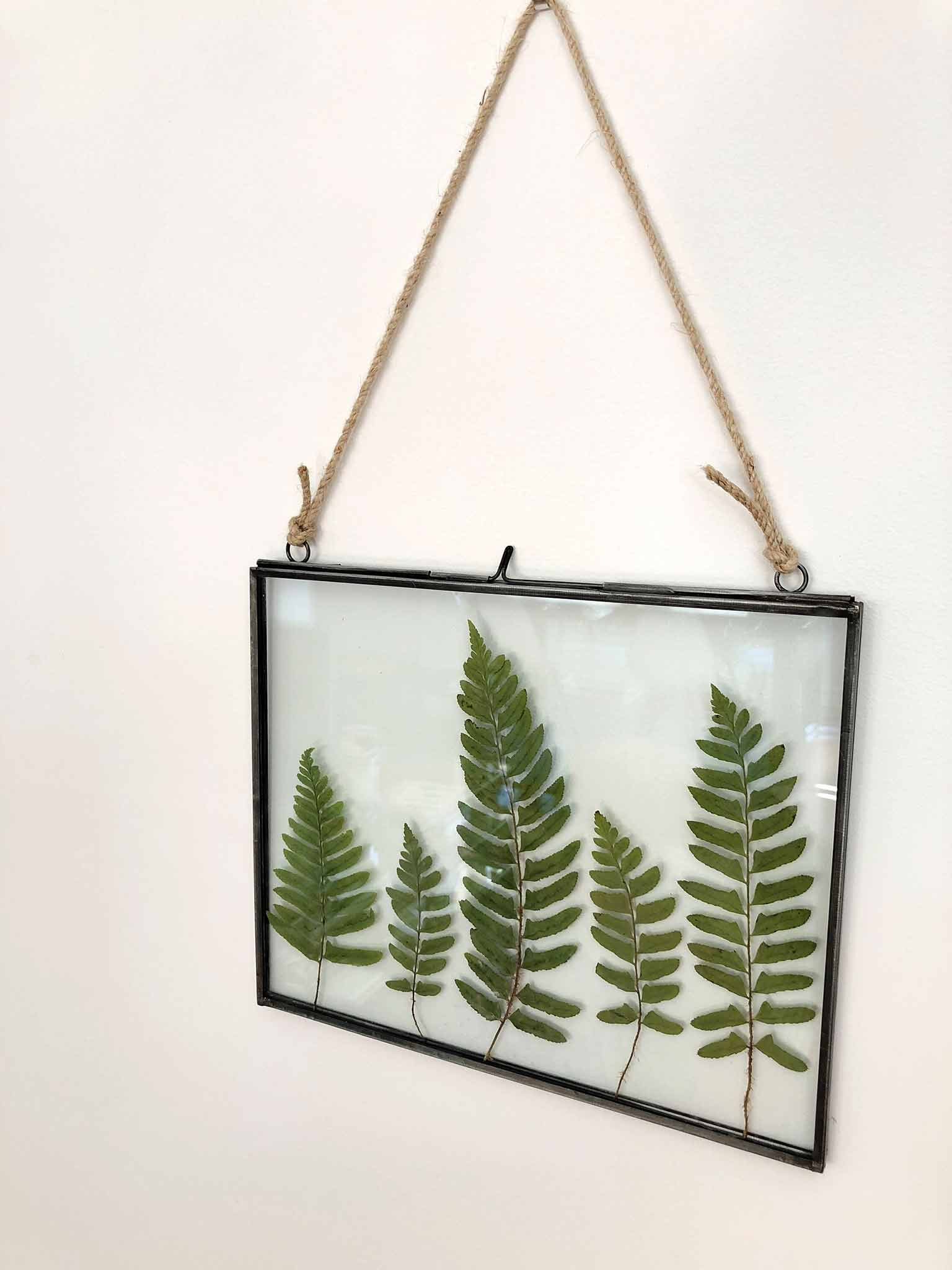 Master Bedroom Etsy Finds Leaf Art - The One Room Challenge - That Homebird Life Blog