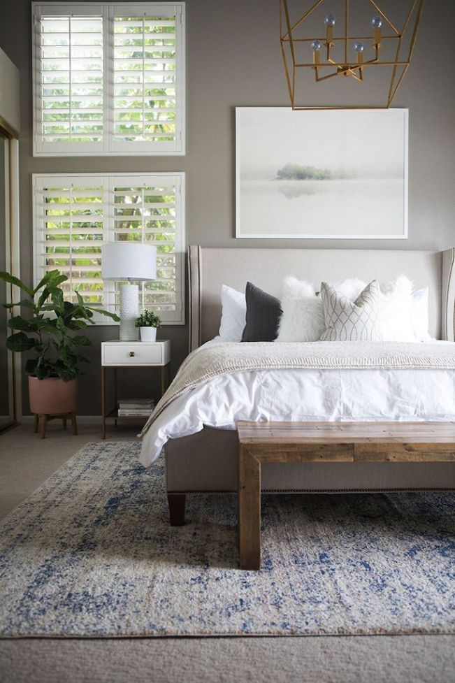 Master Bedroom Inspiration - The One Room Challenge - That Homebird Life Blog