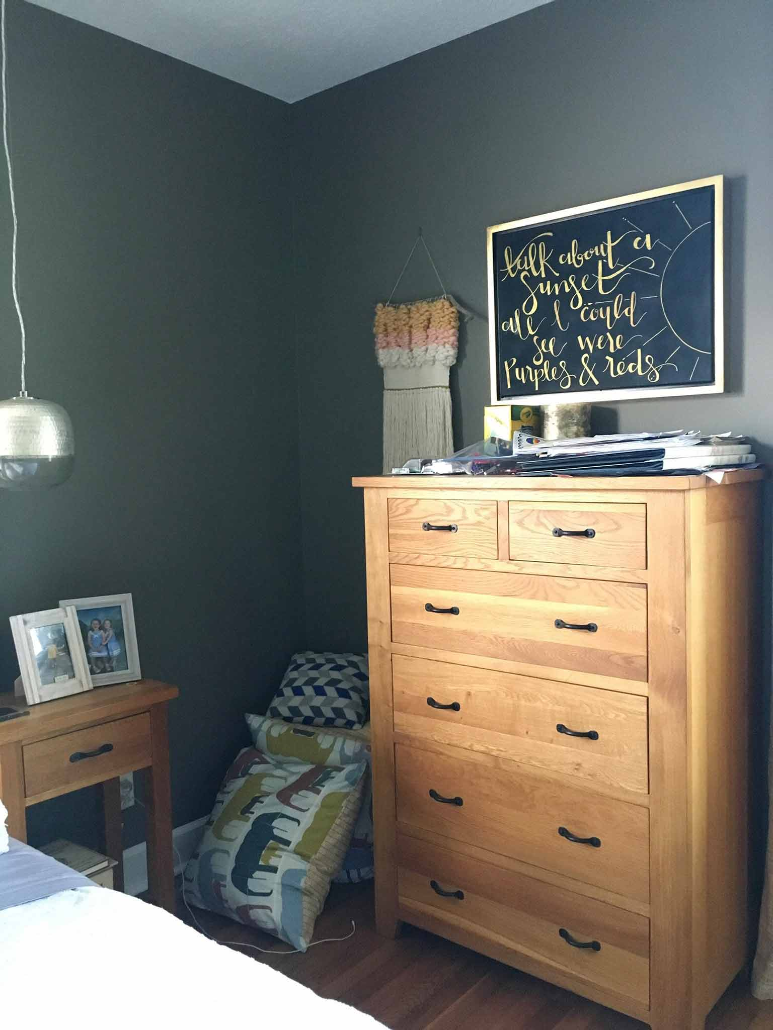 Master Bedroom Before - Guest Participant of the One Room Challenge - That Homebird Life Blog