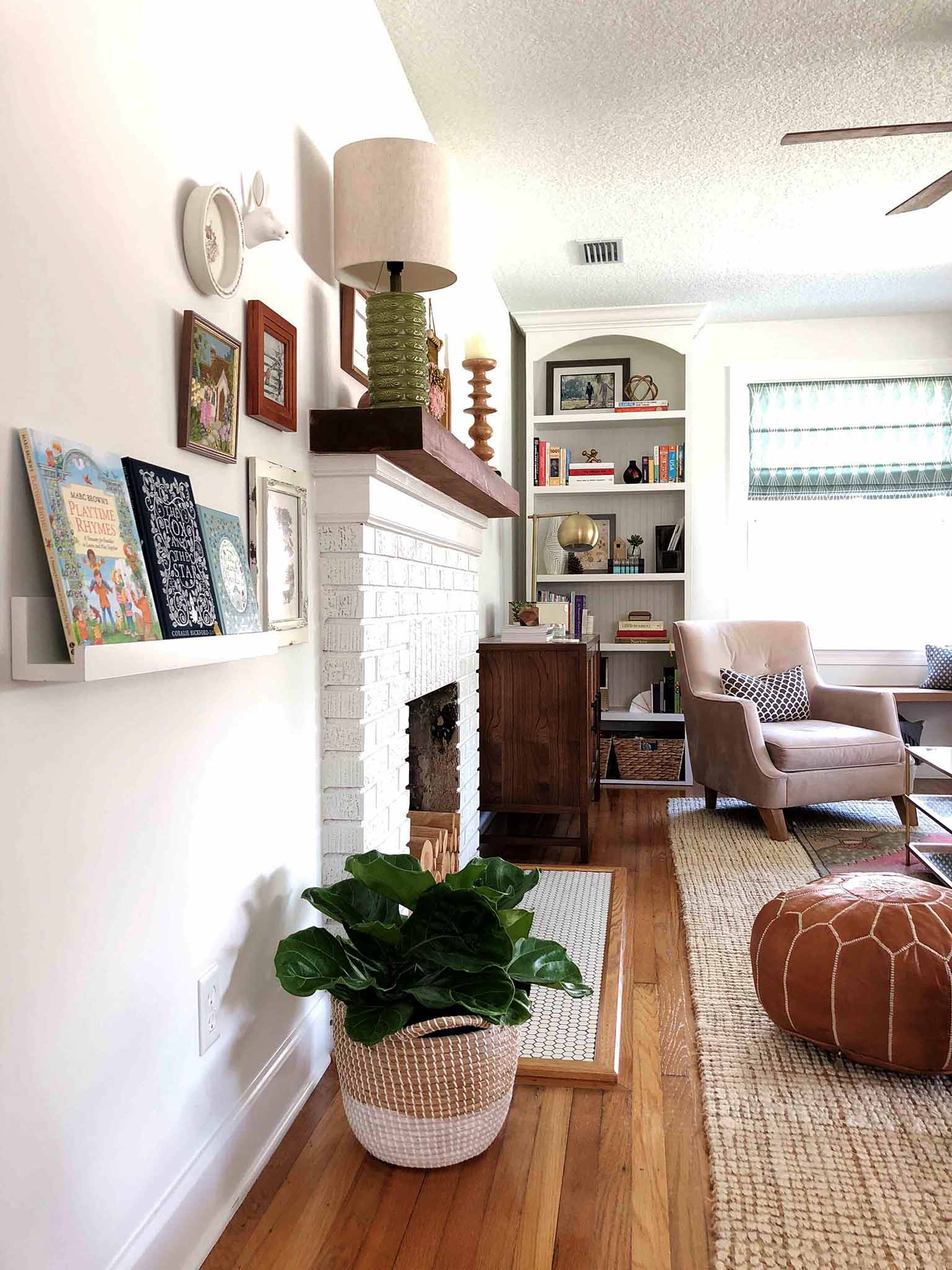 Layered and cozy living room - styling - That Homebird Life Blog