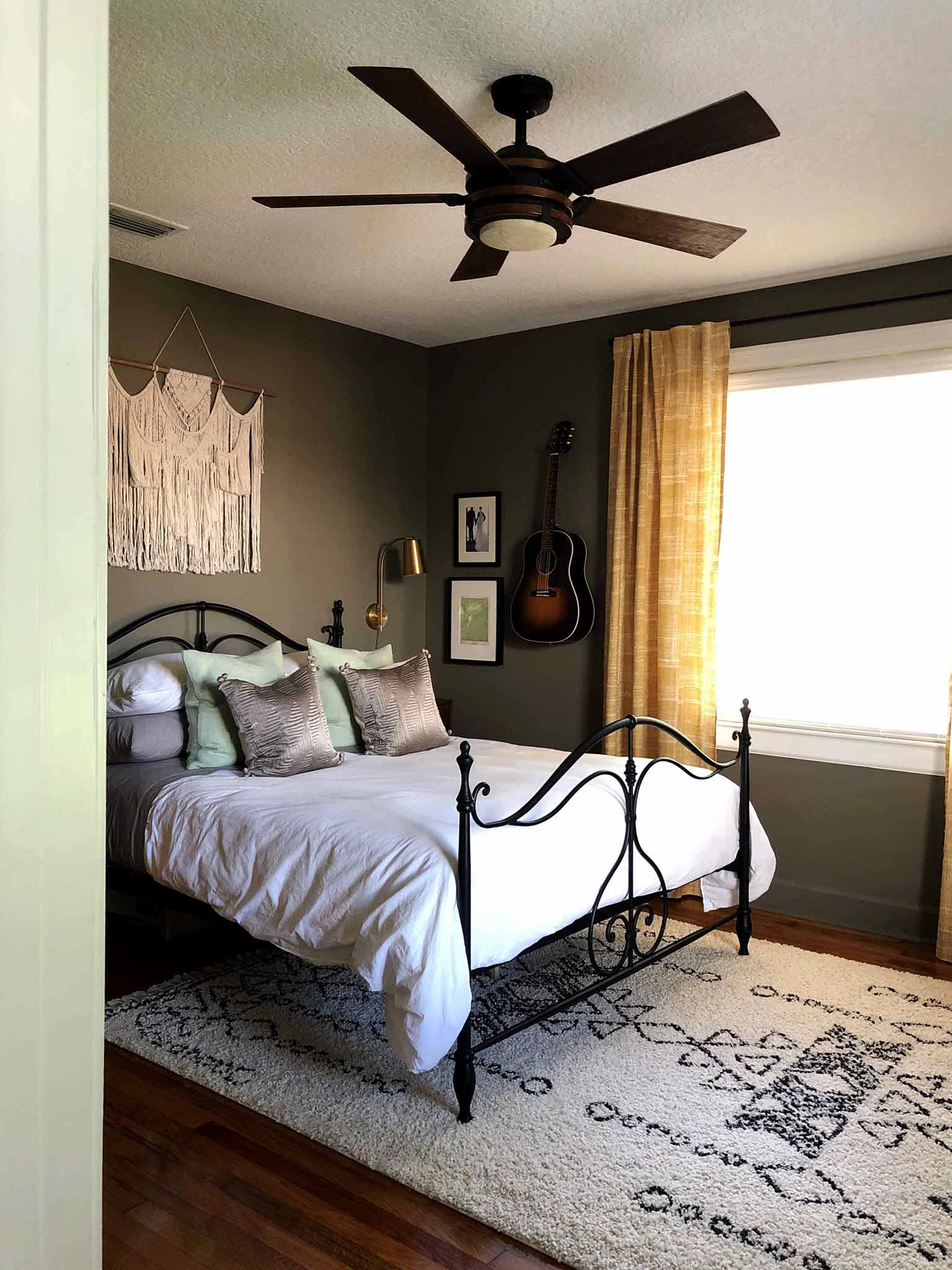 One Room Challenge Master Bedroom - That Homebird Life Blog