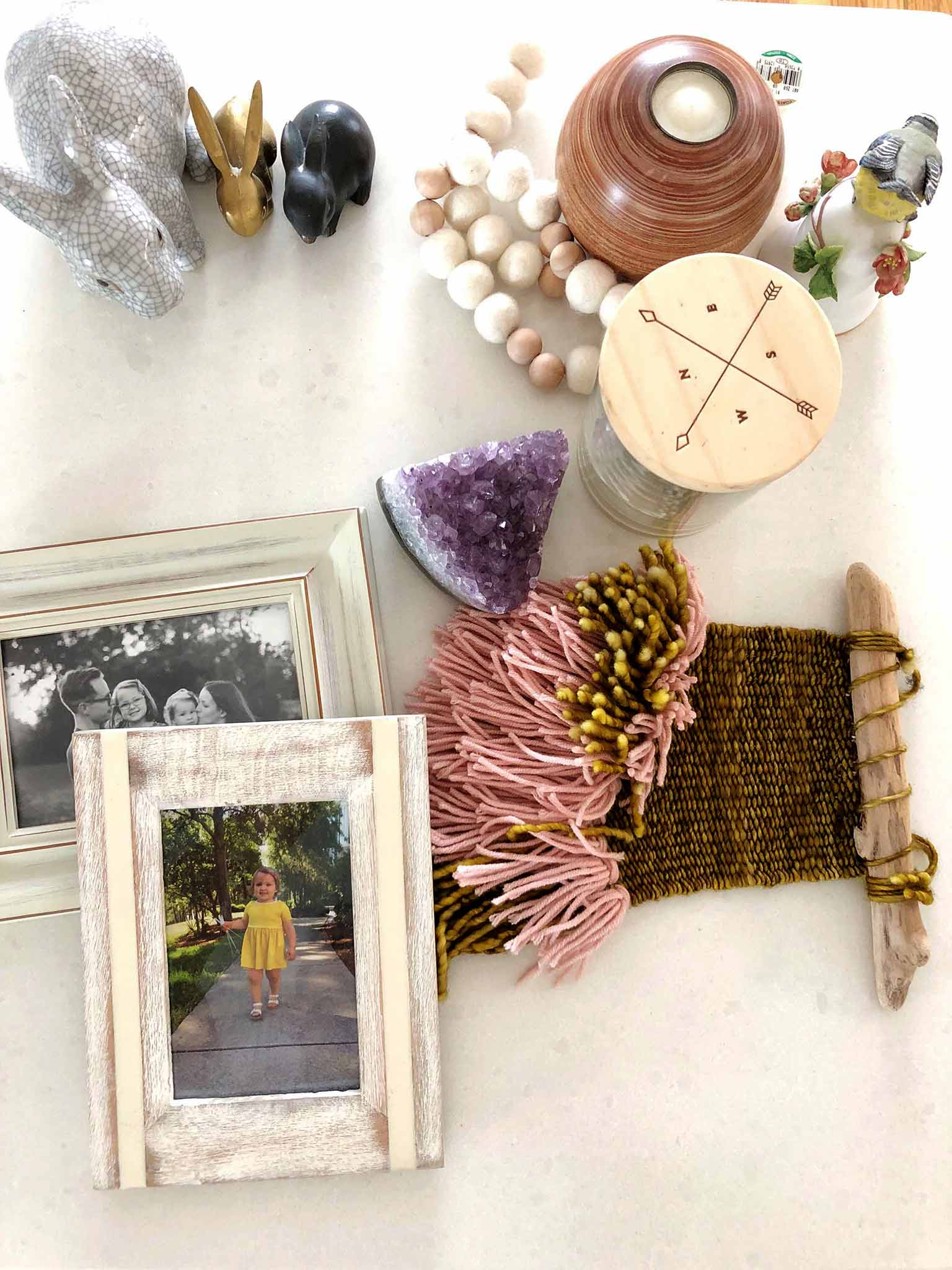 Decluttering to make space for fall decor - Simple Fall Decor for the Uncluttered Home - That Homebird Life blog