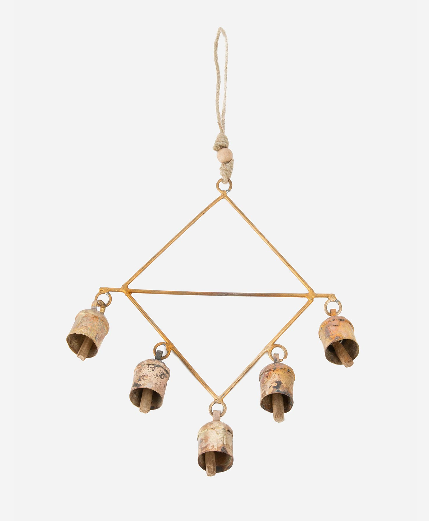 Gold Bell Decoration - Ethical, Sustainable Holiday Gift Guide - That Homebird Life Blog