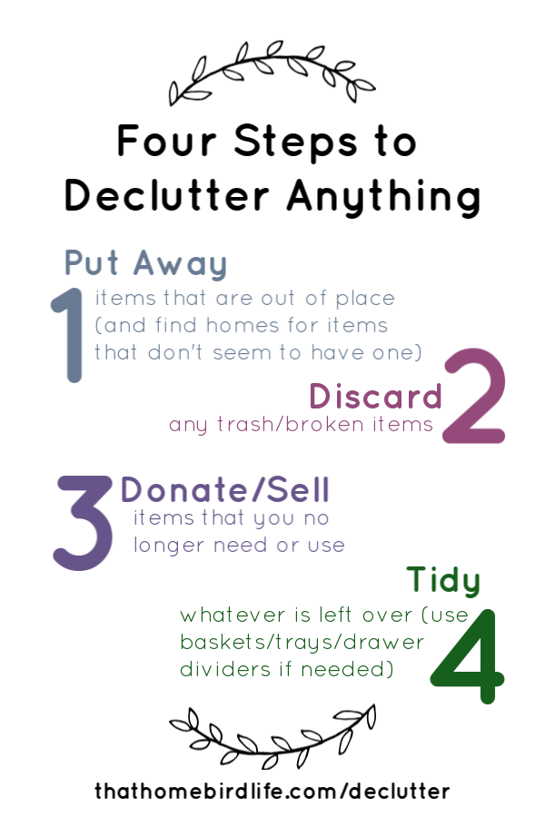 Join my FREE 10 Day Declutter and learn how to simplify your space! The perfect way to kickstart your year! #declutter #declutteryourhome