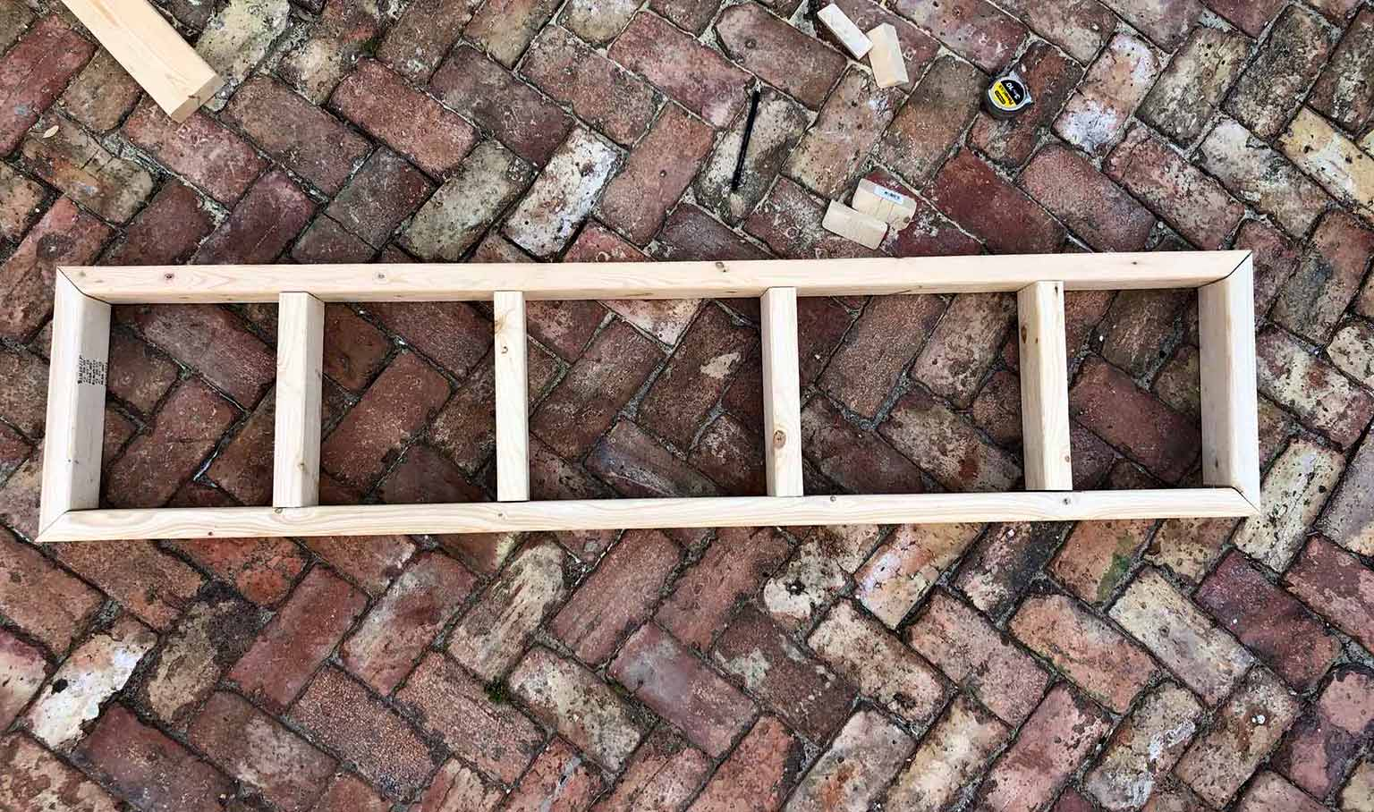 Building a Freestanding Window Bench from IKEA Cabinets: One Room