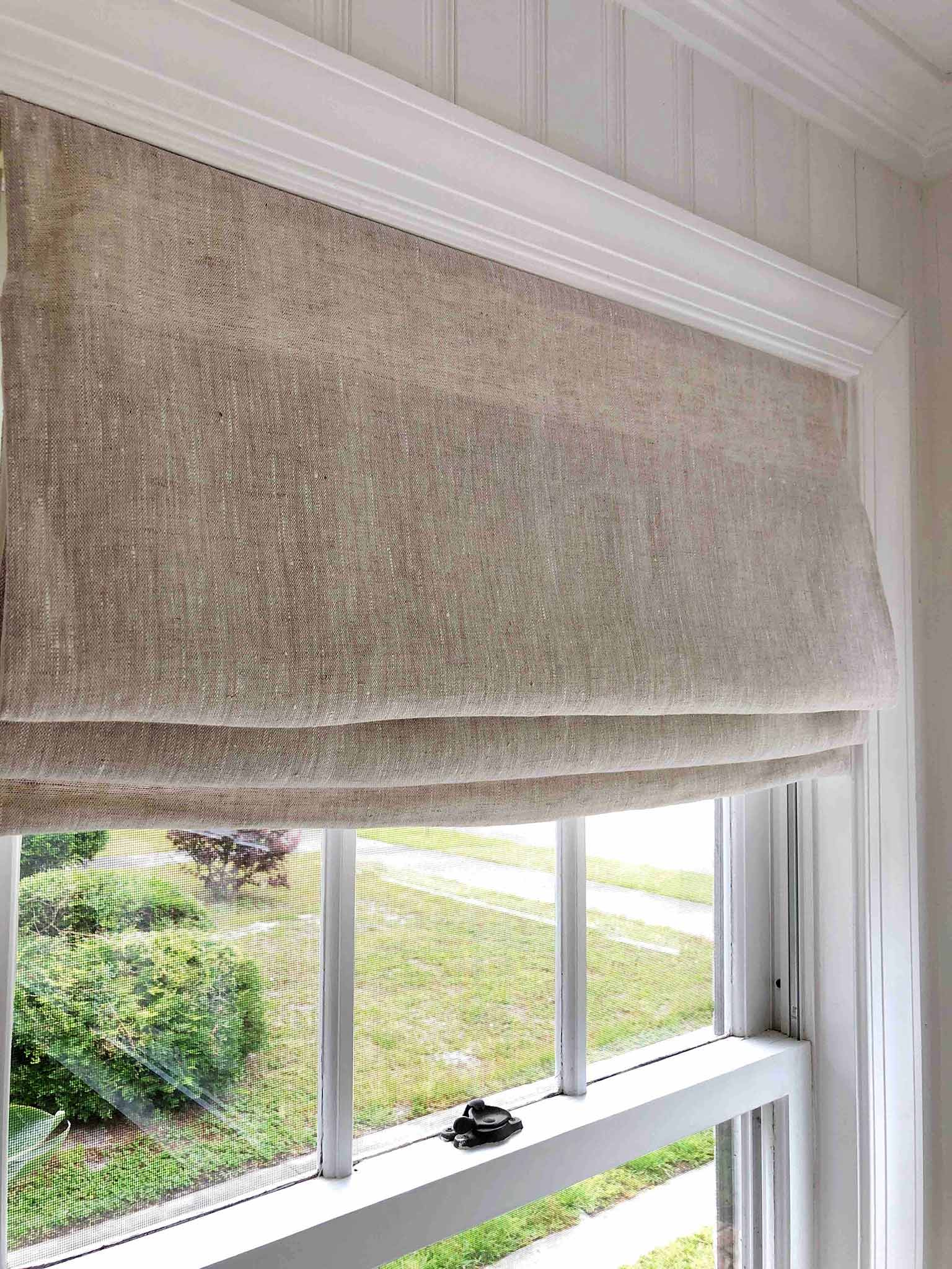 DIY Cordless Fabric Shades: One Room Challenge Week Five