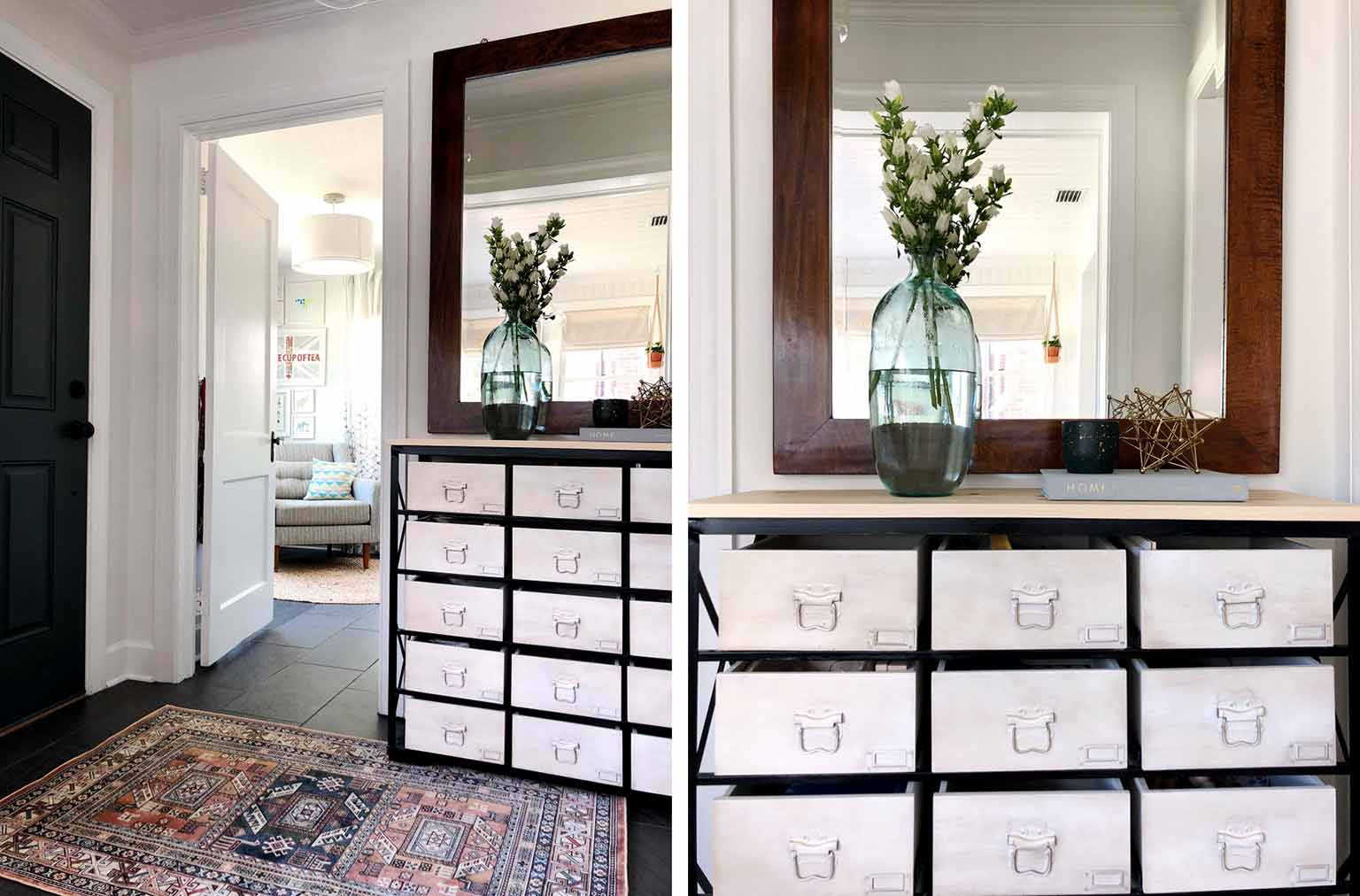 entryway storage unit