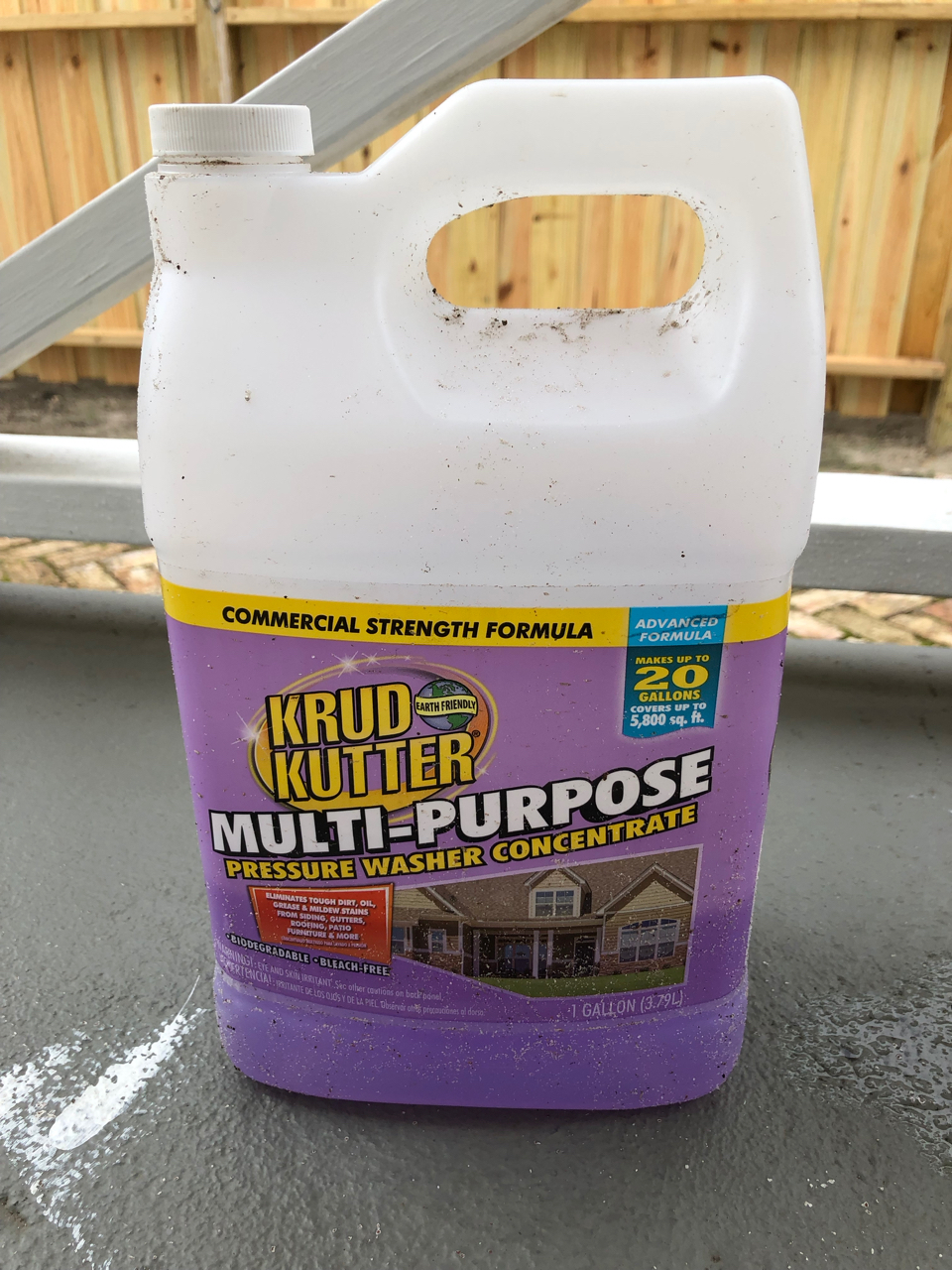 Krud Kutter pressure washing concentrate