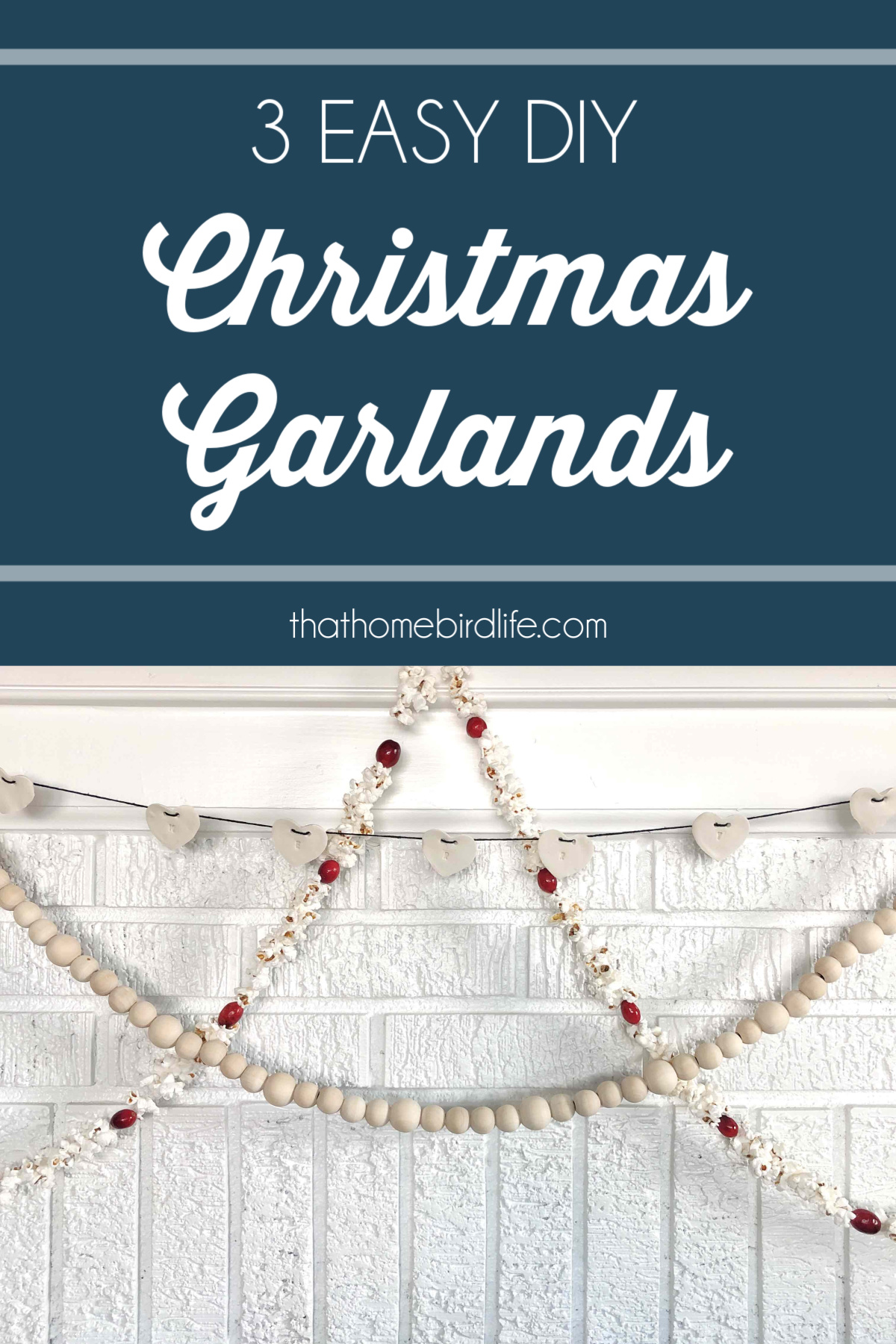 3 Easy DIY Christmas Garlands