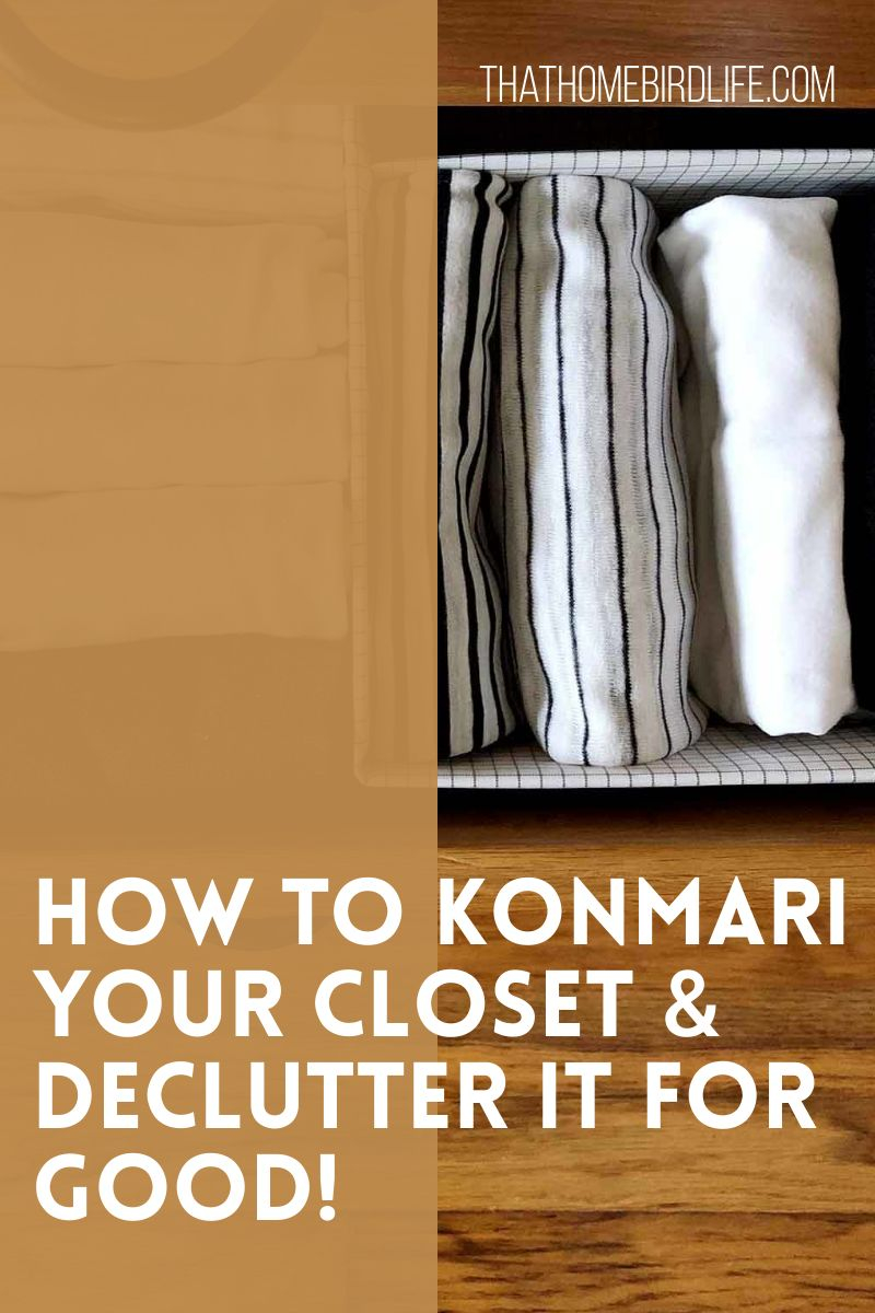 How to KonMari Your Clothing