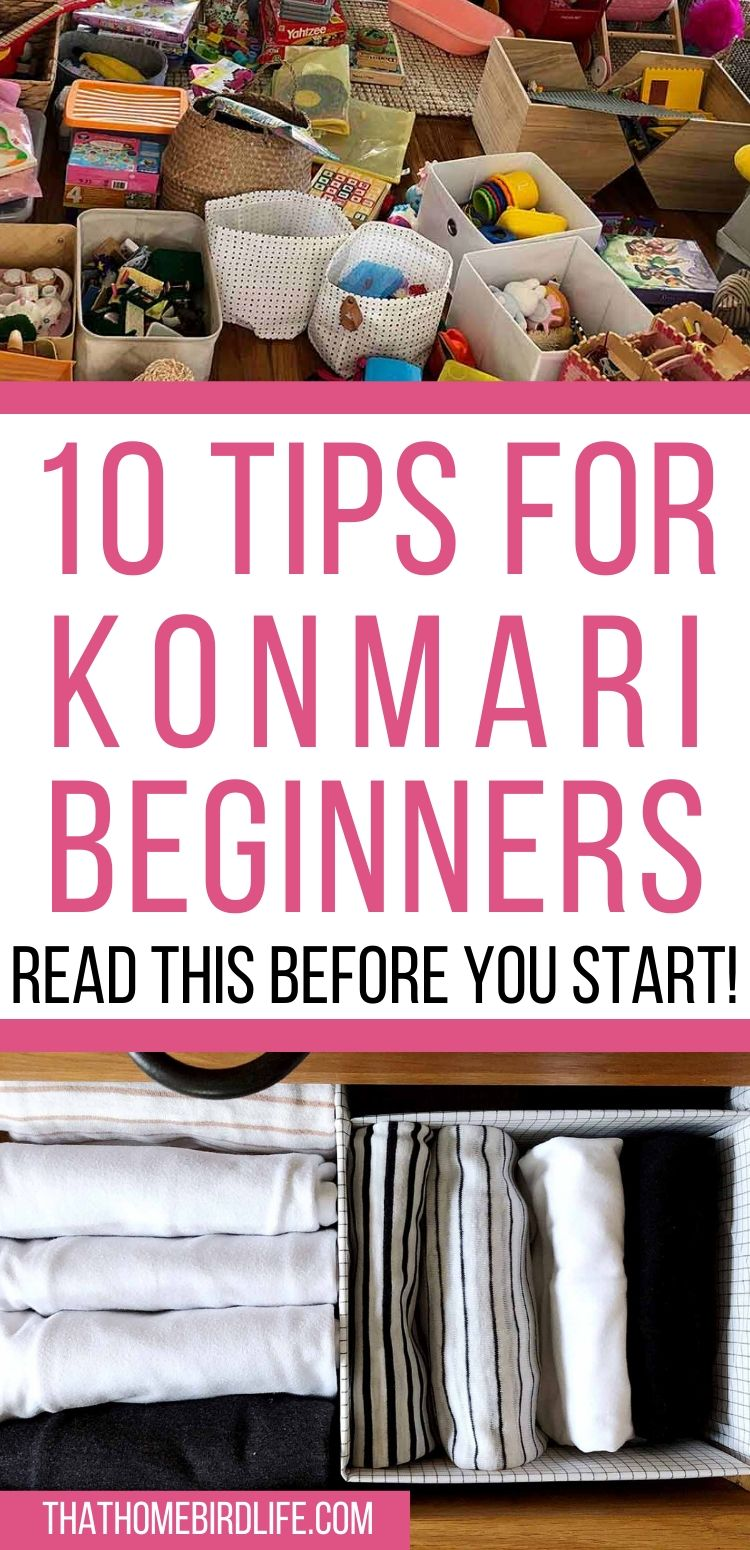 10 Things You Need to Know BEFORE You Konmari Your Home